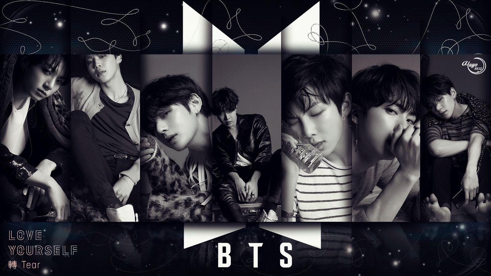 Bts Love Yourself Wallpaper Desktop Posted By Zoey Thompson