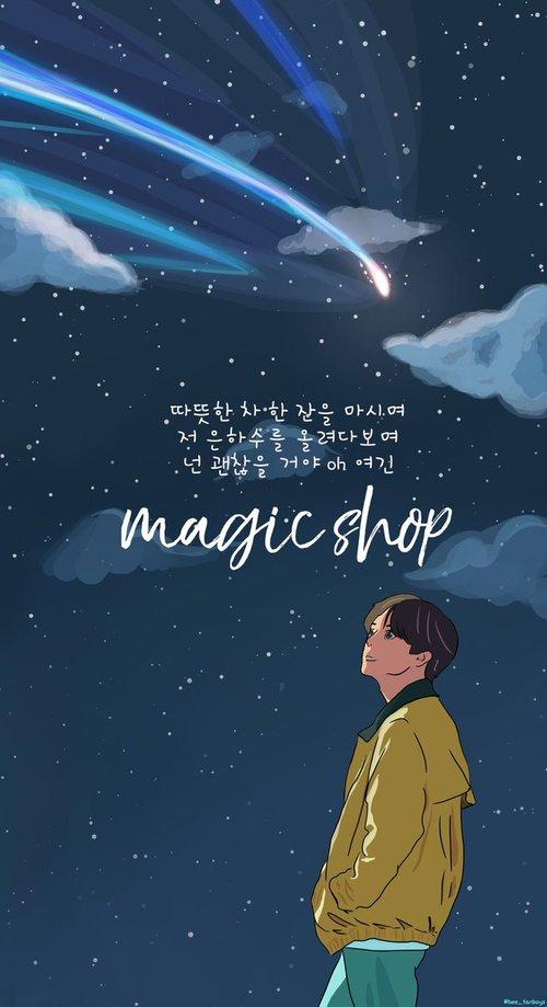 Lyrics Collection Magic Shop Bts Lyrics English Translation