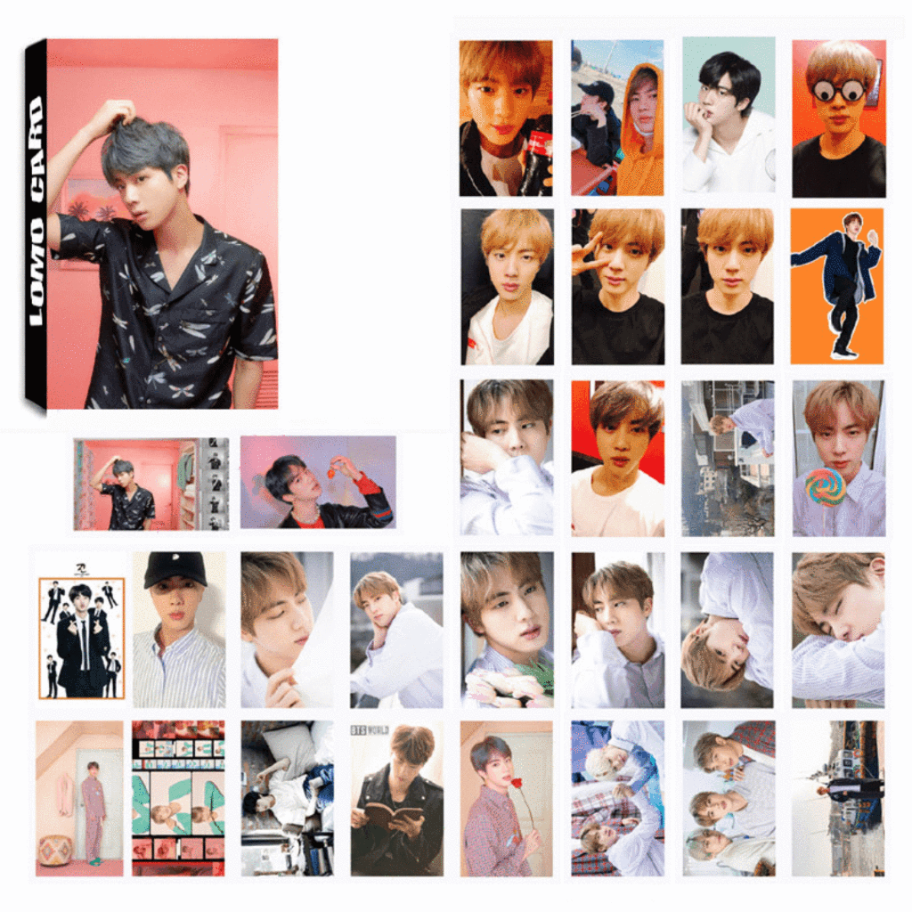 BTS Map Of The Soul Persona Concept Photos Member 30 PC LOMO Photocards JIN