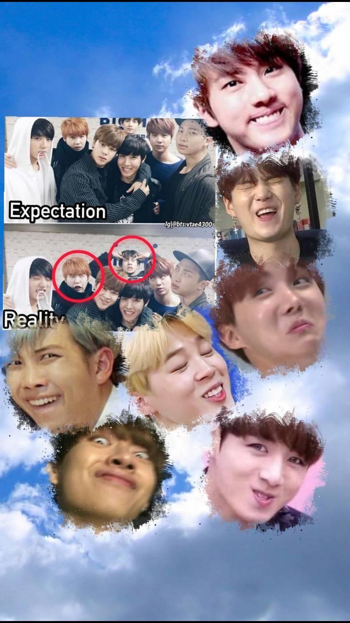 BTS Meme Wallpaper by IvahDaye1103798 5b Free on ZEDGE tm
