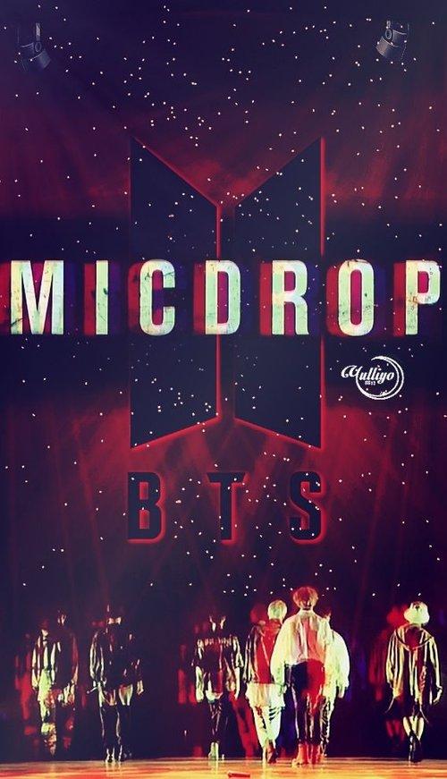Bts Mic Drop Wallpaper Desktop Posted By John Thompson