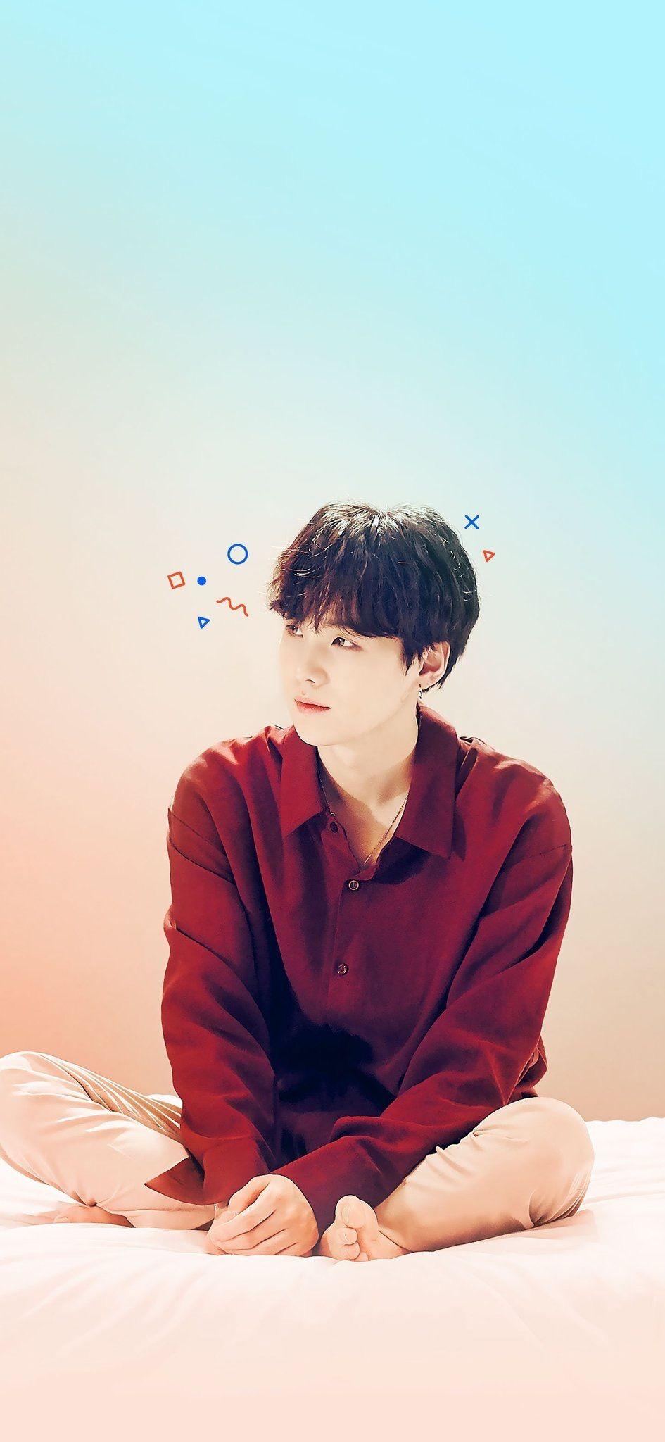 LG SUGA WALLPAPER in 2019 Min yoongi bts, Bts suga, Bts