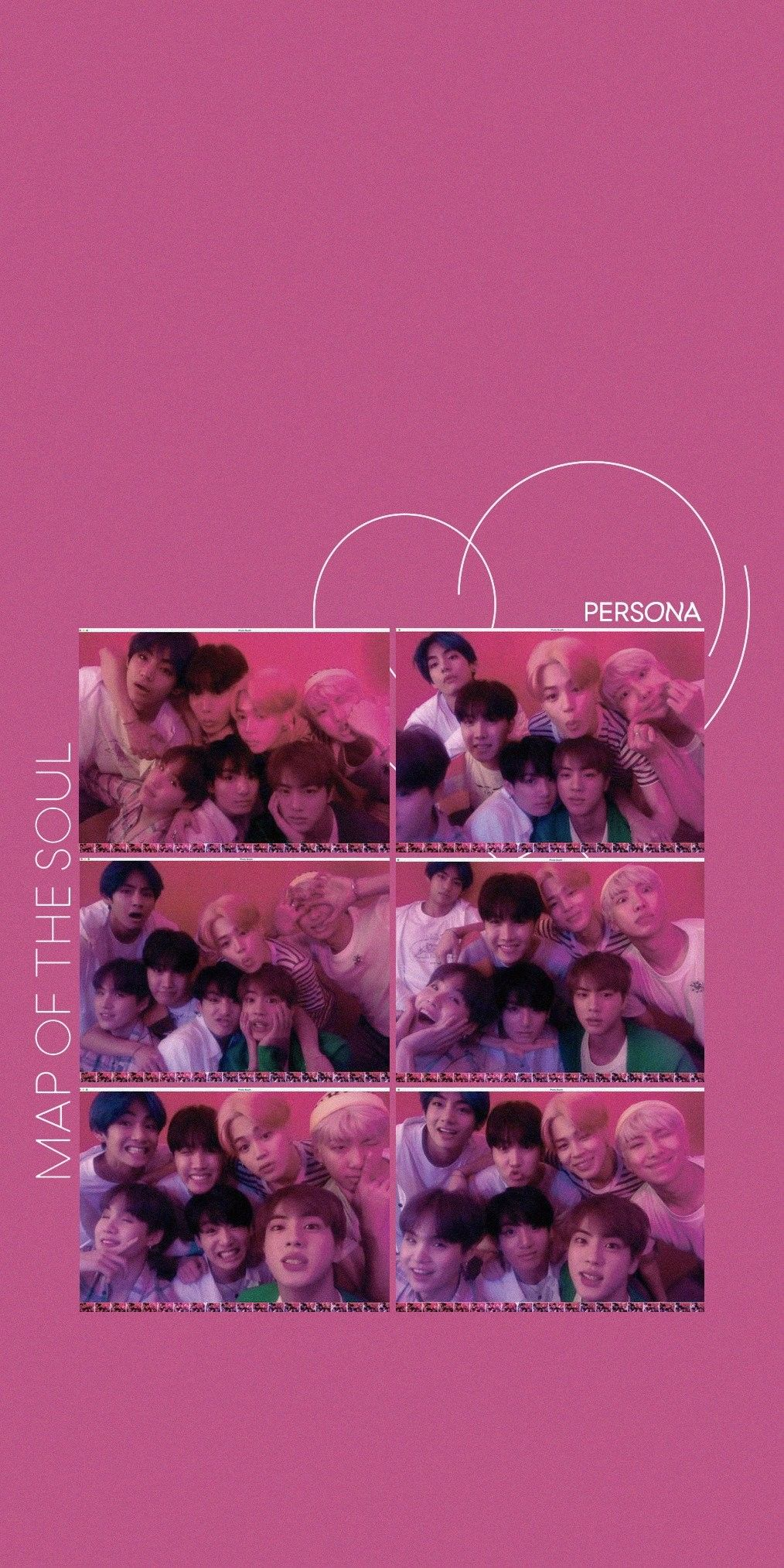 BTS Wallpapers Map of The SoulPersona Concept Photo