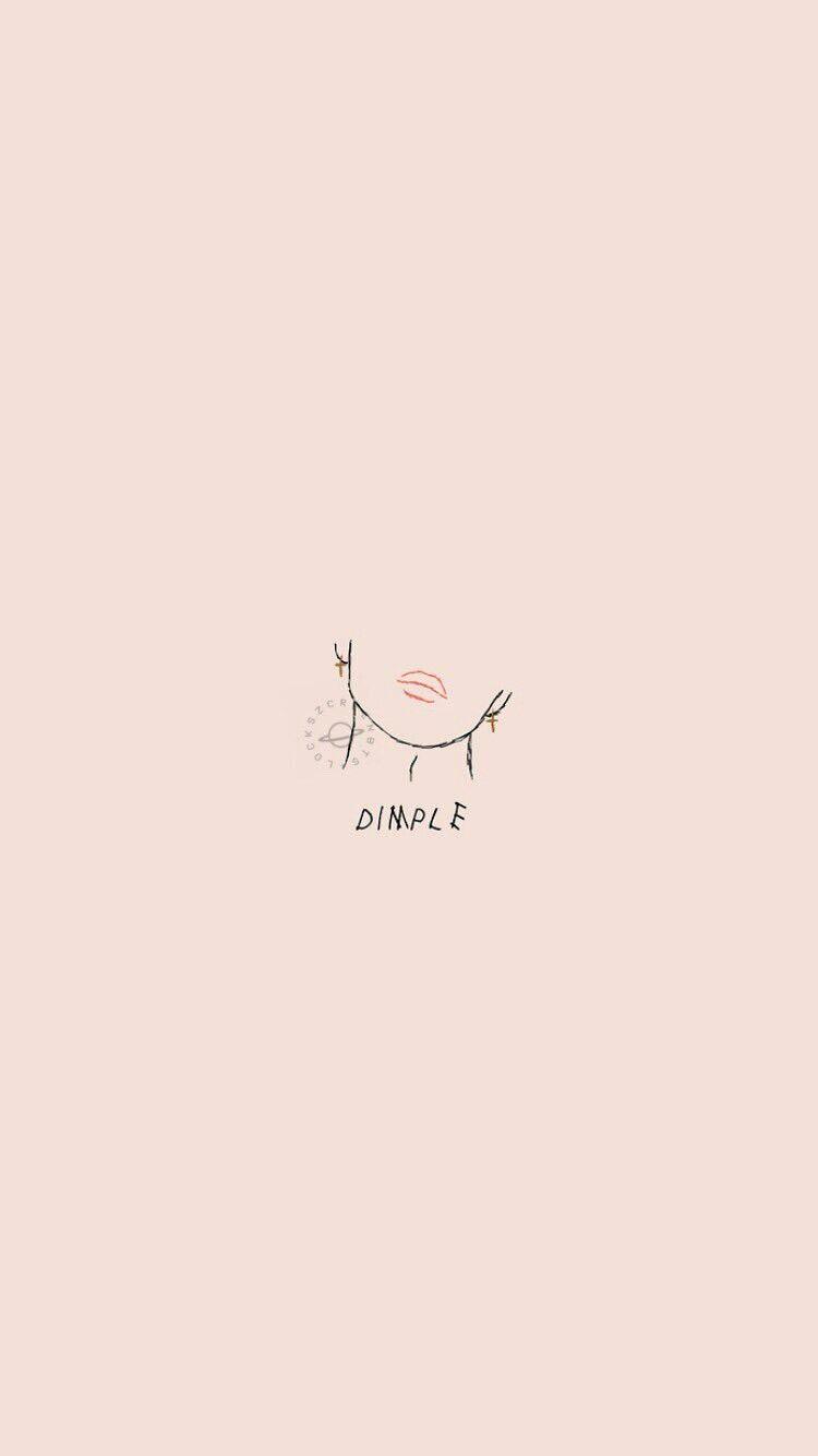 BTS Dimple Wallpaper a tm A Bts wallpaper, Bts lockscreen