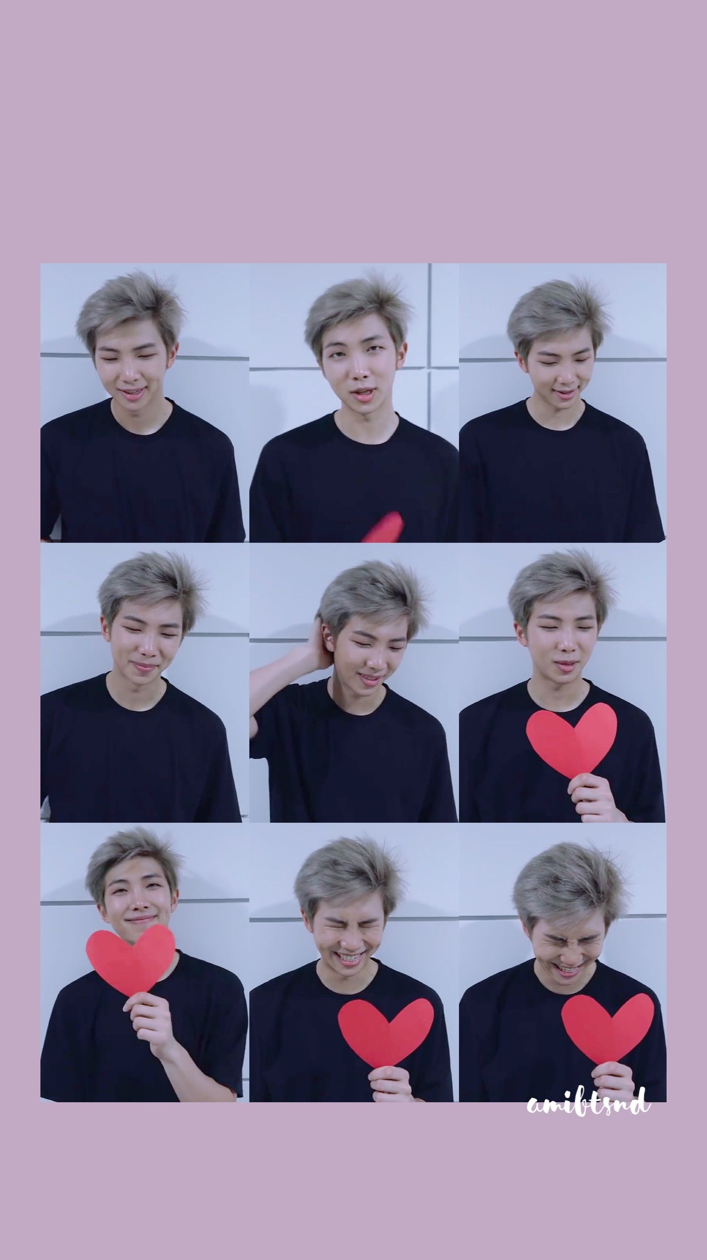 Bts Wallpaper Kimnamjoon Rap Monster Wallpaper My Phone