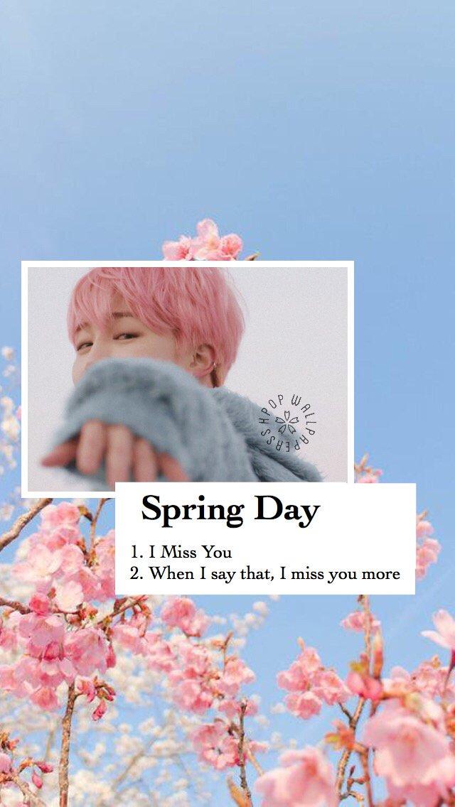 Bts Desktop Wallpaper Spring Day
