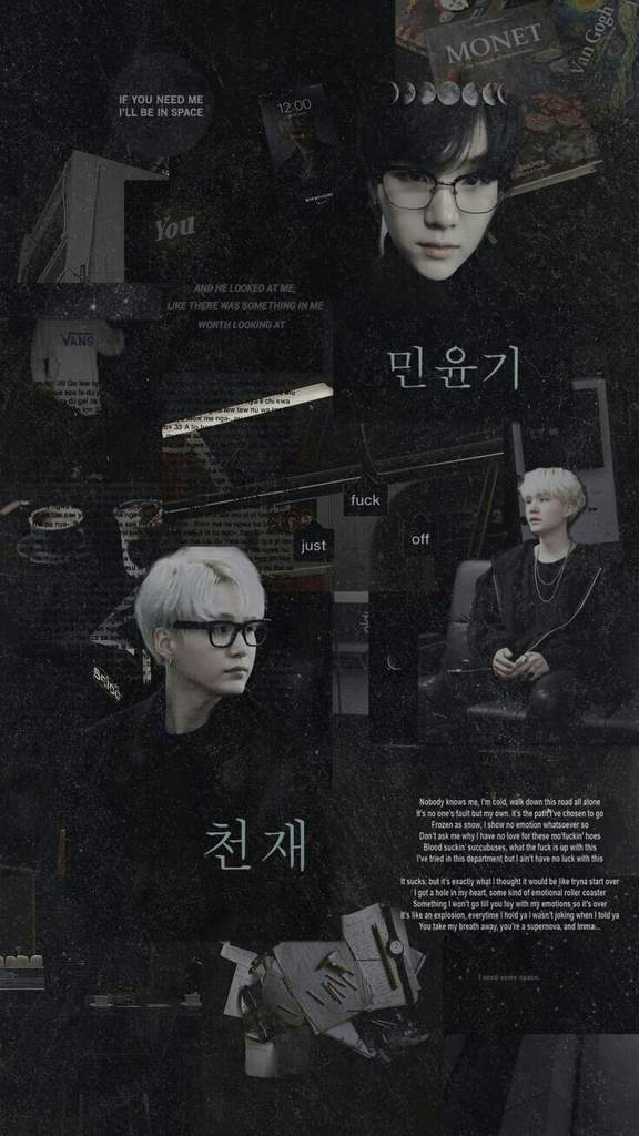 Wallpapers BTS A Suga aesthetic ARMY BR Amino