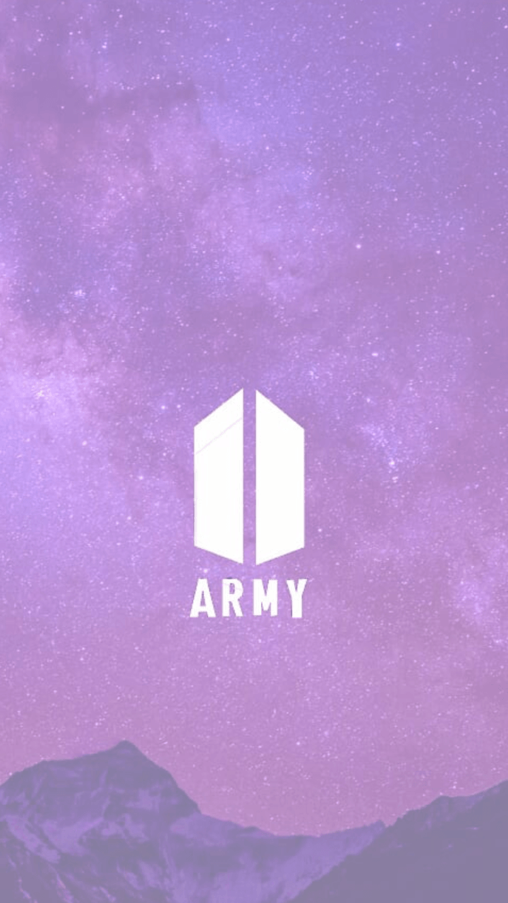 Bts And Army Logo Phone Wallpapers Wallpaper Cave