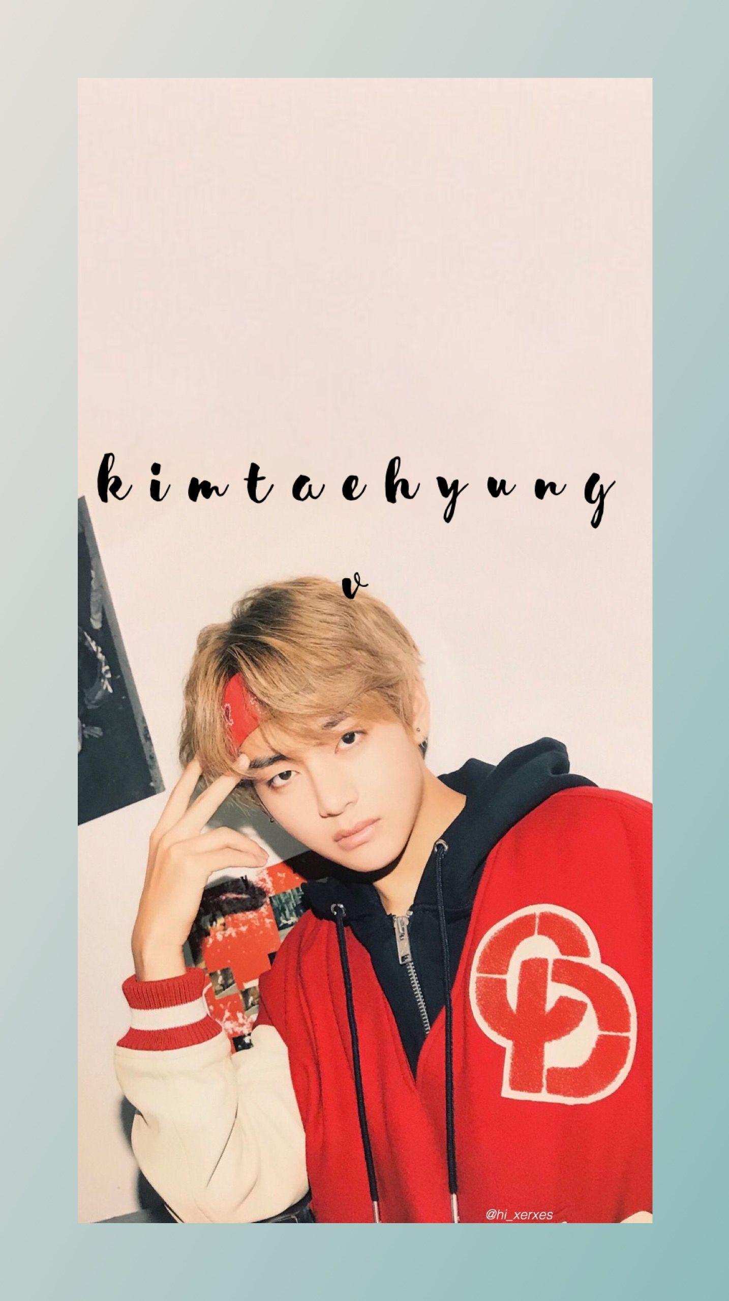 Free download KIMTAEHYUNG BTS WALLPAPER BANGTAN V BANGTAN in