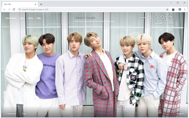BTS Bangtan Boys Wallpapers HD New Tab HD Wallpapers