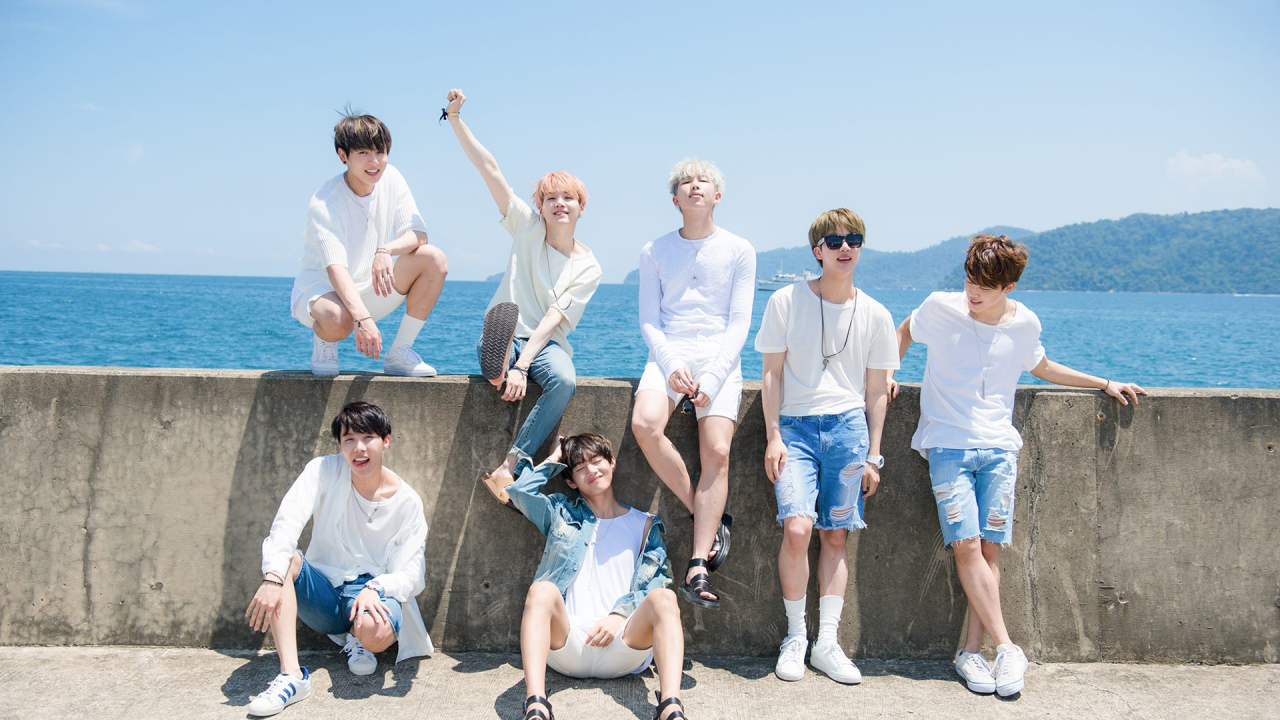 bts desktop wallpaper Tumblr Bts summer package Bts