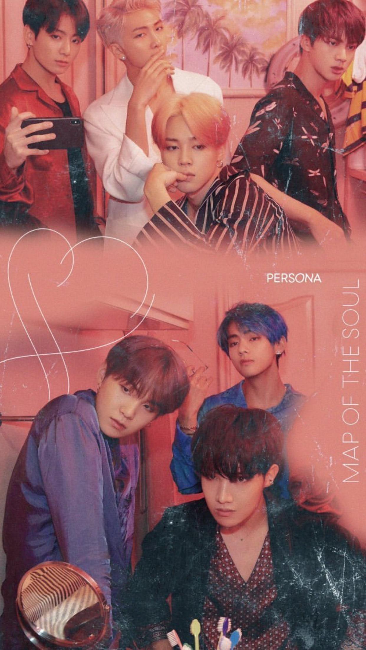 BTS persona wallpaper in 2019 Bts wallpaper, Bts