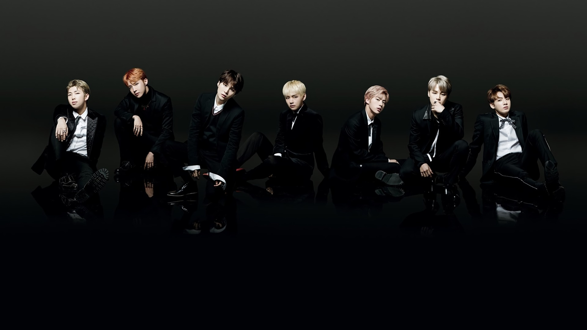 BTS Black And White Wallpapers Wallpaper Cave
