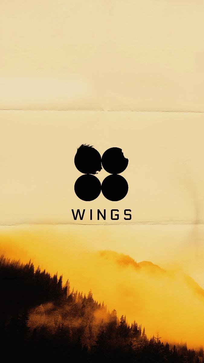 Bts Wings Wallpaper Laptop Tumblr Yellow Aesthetic Hd