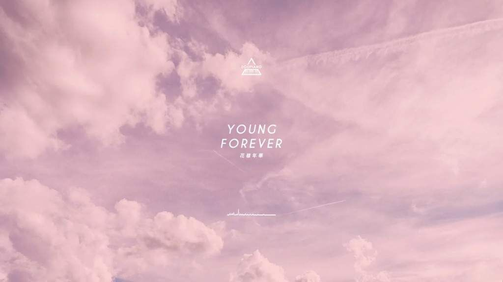 Image result for bts young forever wallpaper computer hd in