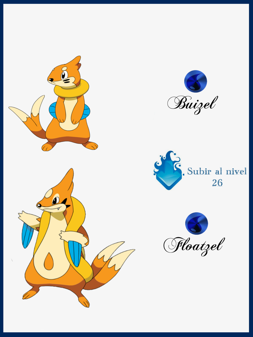 Buizel Evolution Chart Posted By Ethan Cunningham