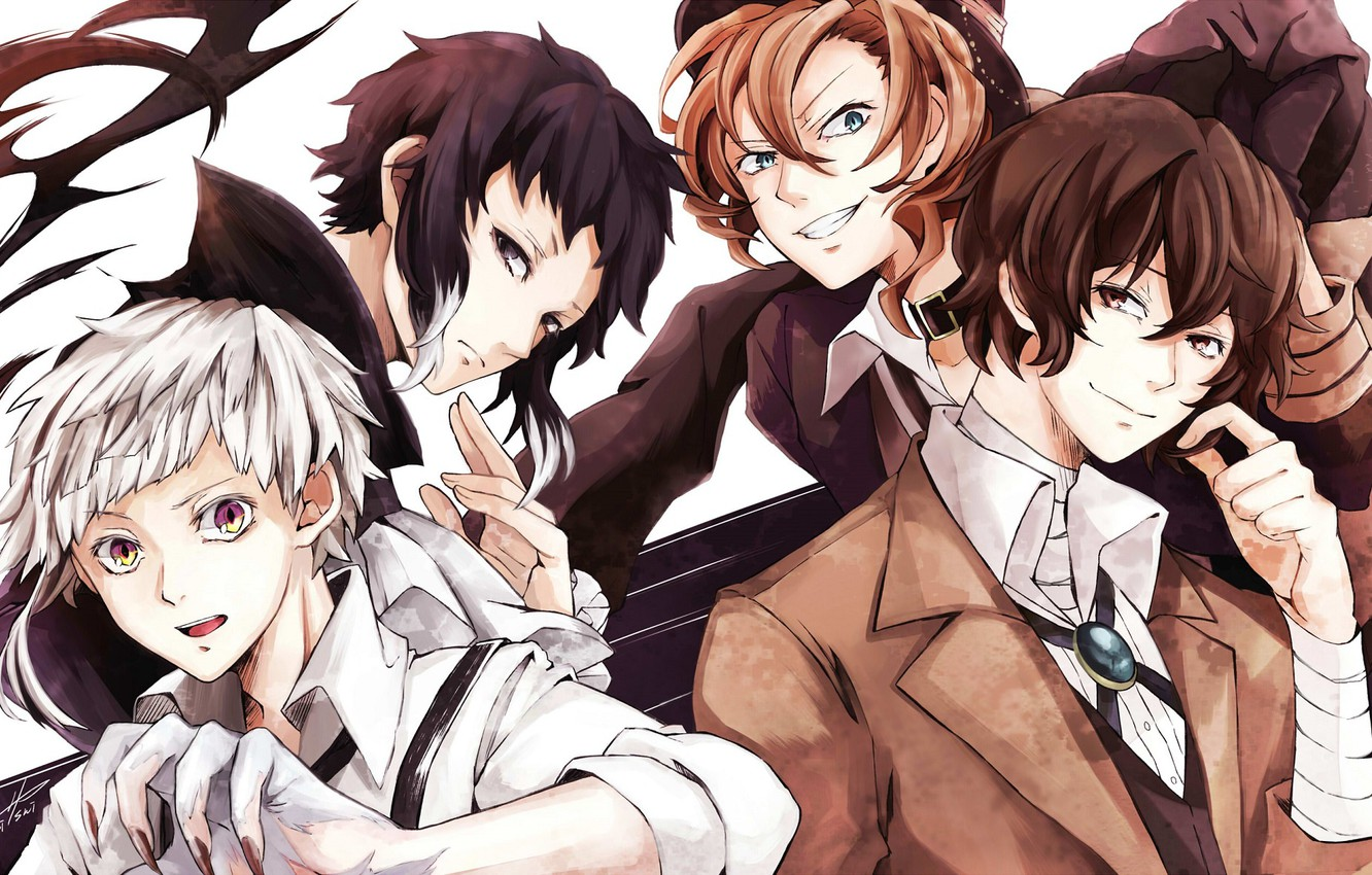 Bungou Stray Dogs Wallpaper Dazai Posted By Ryan Cunningham