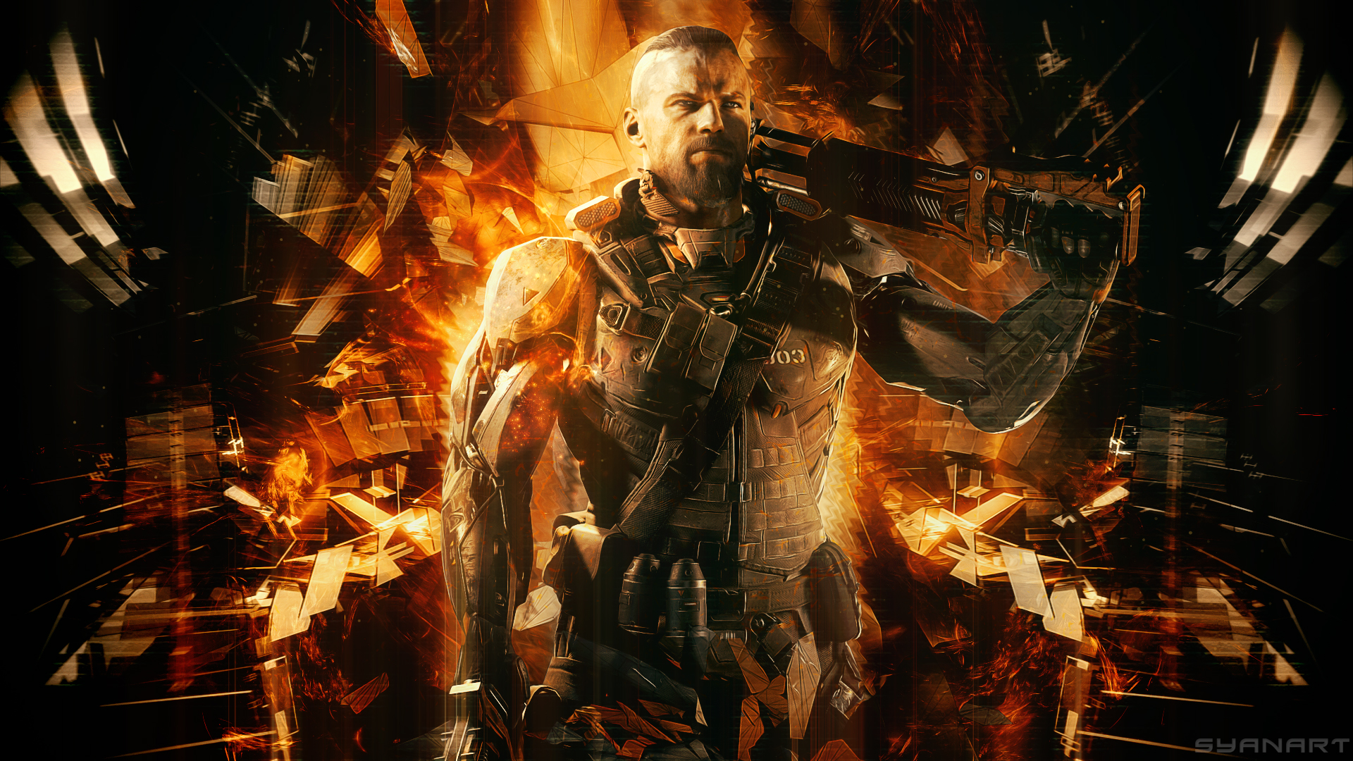 Call of Duty Black Ops 3 Full HD Wallpaper SyanArt Station