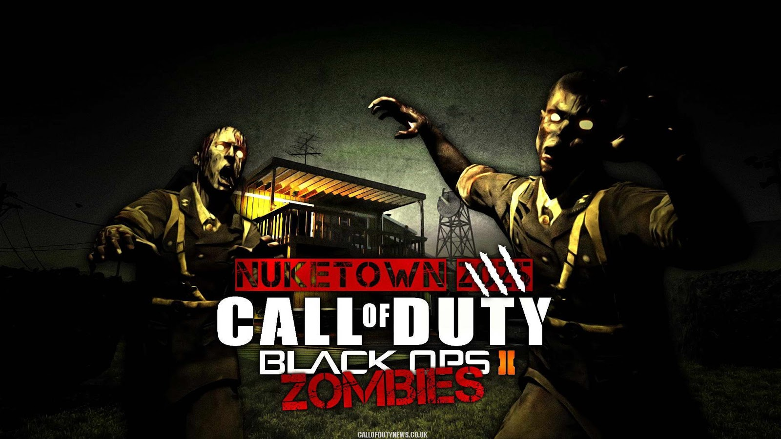 Anband Arts Call Of Duty Black Ops Zombies Wallpapers