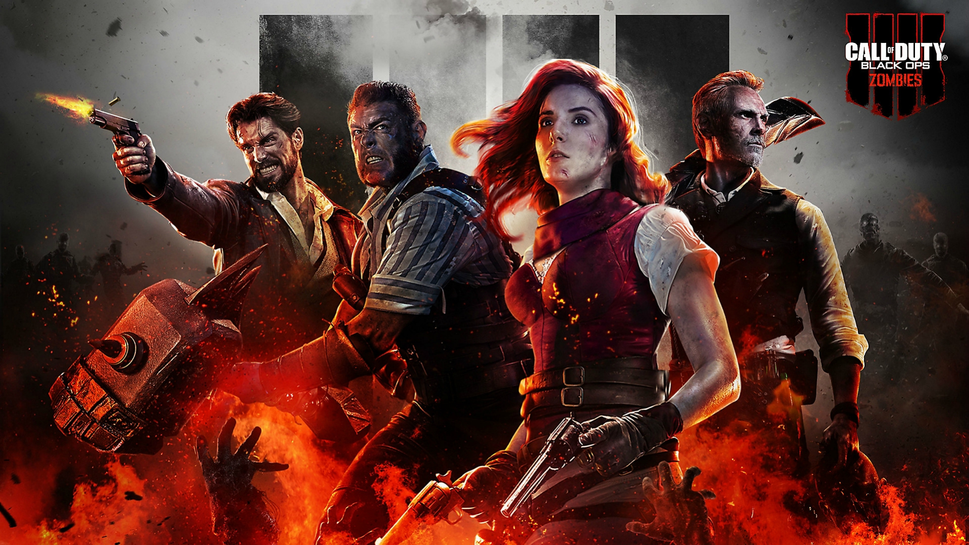 Call of Duty Black Ops 4 Zombies HD Wallpaper Background