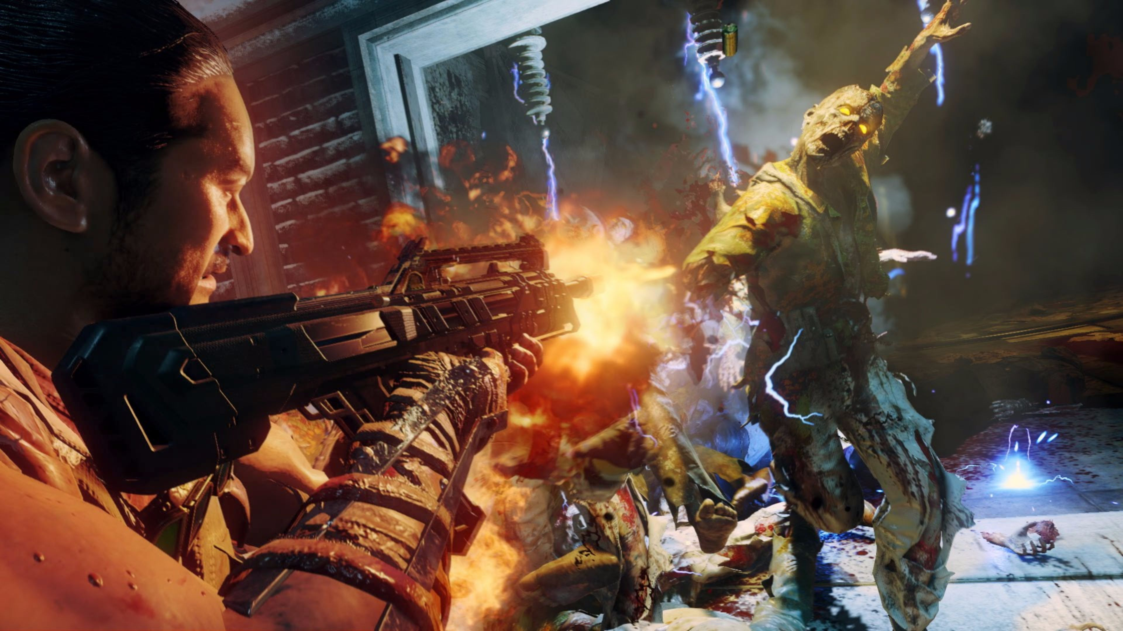 Zombie Invasion Call of Duty Black Ops 3 4K wallpaper