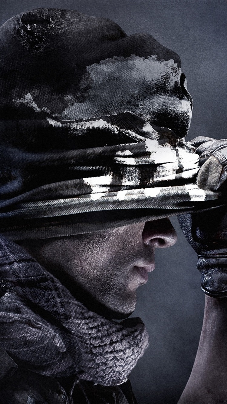 Call Of Duty Ghosts Iphone Wallpaper Posted By Michelle Johnson
