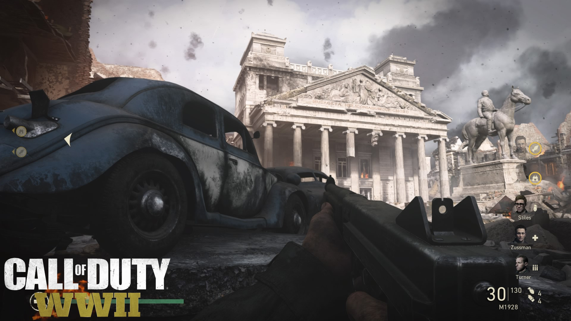 Call Of Duty Ww2 Hd Wallpaper Posted By Ethan Anderson