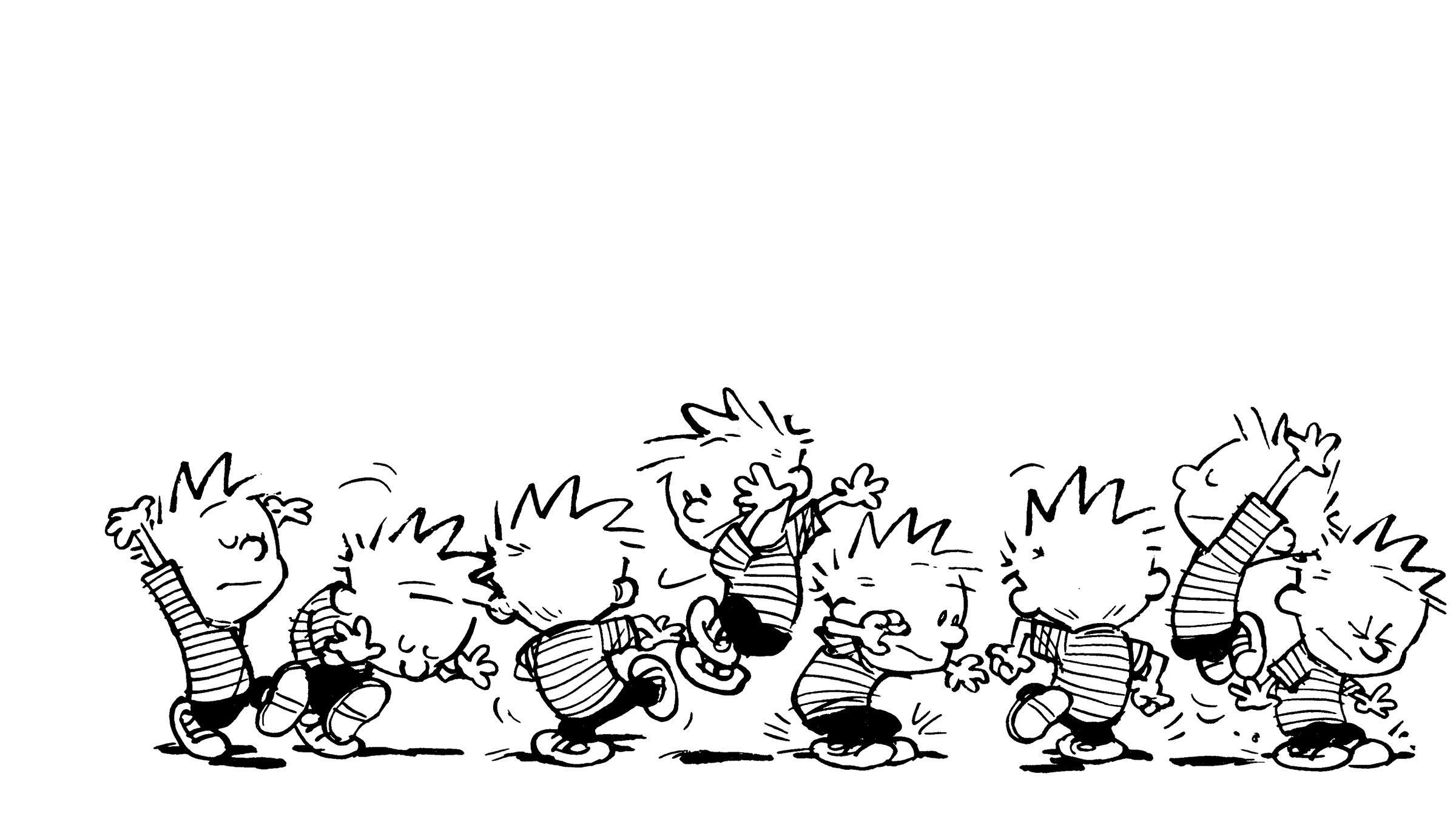 Calvin And Hobbes Hd Wallpaper Posted By Sarah Johnson