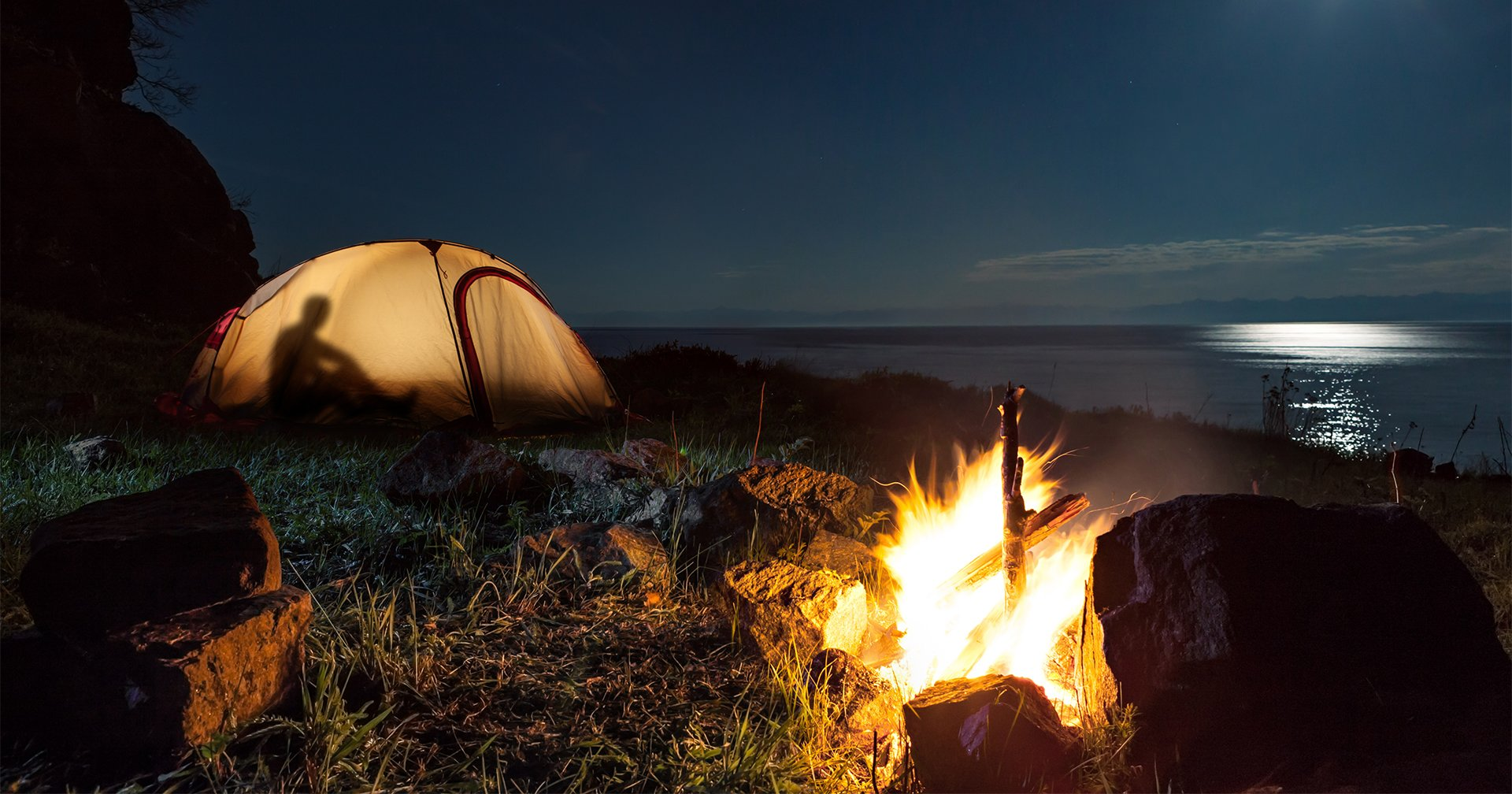 Camping Hd Wallpaper Posted By Christopher Peltier