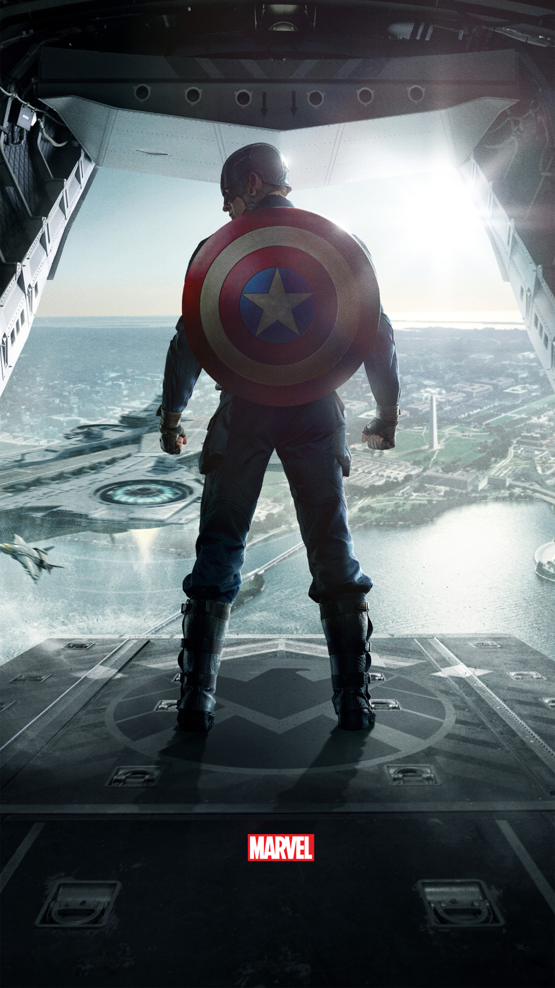 Captain America Shield Hd Wallpaper Posted By Ethan Anderson