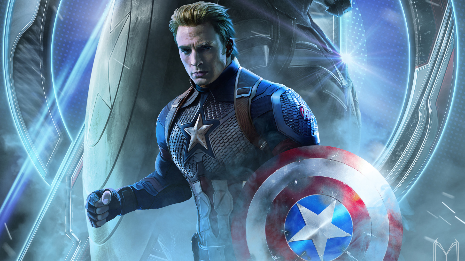 Captain America Shield Wallpapers