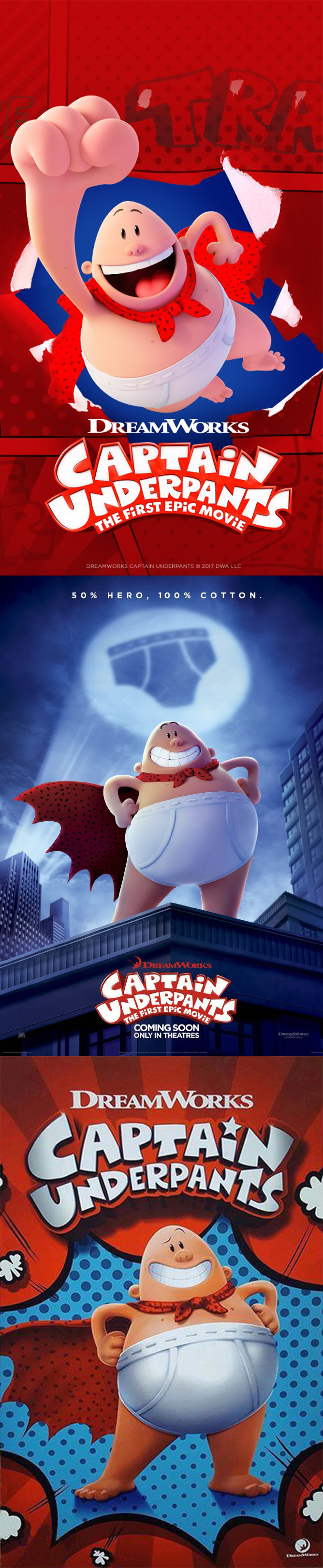 Captain Underpants The First Epic Movie Wallpapers Posted By Samantha Thompson