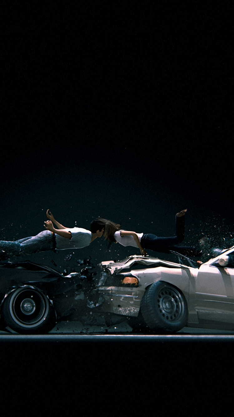 Car Crash Wallpaper Posted By Ethan Sellers