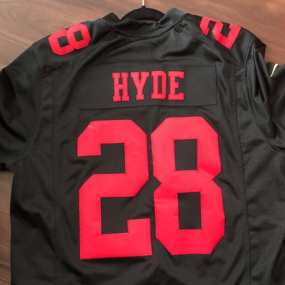 carlos hyde black jersey