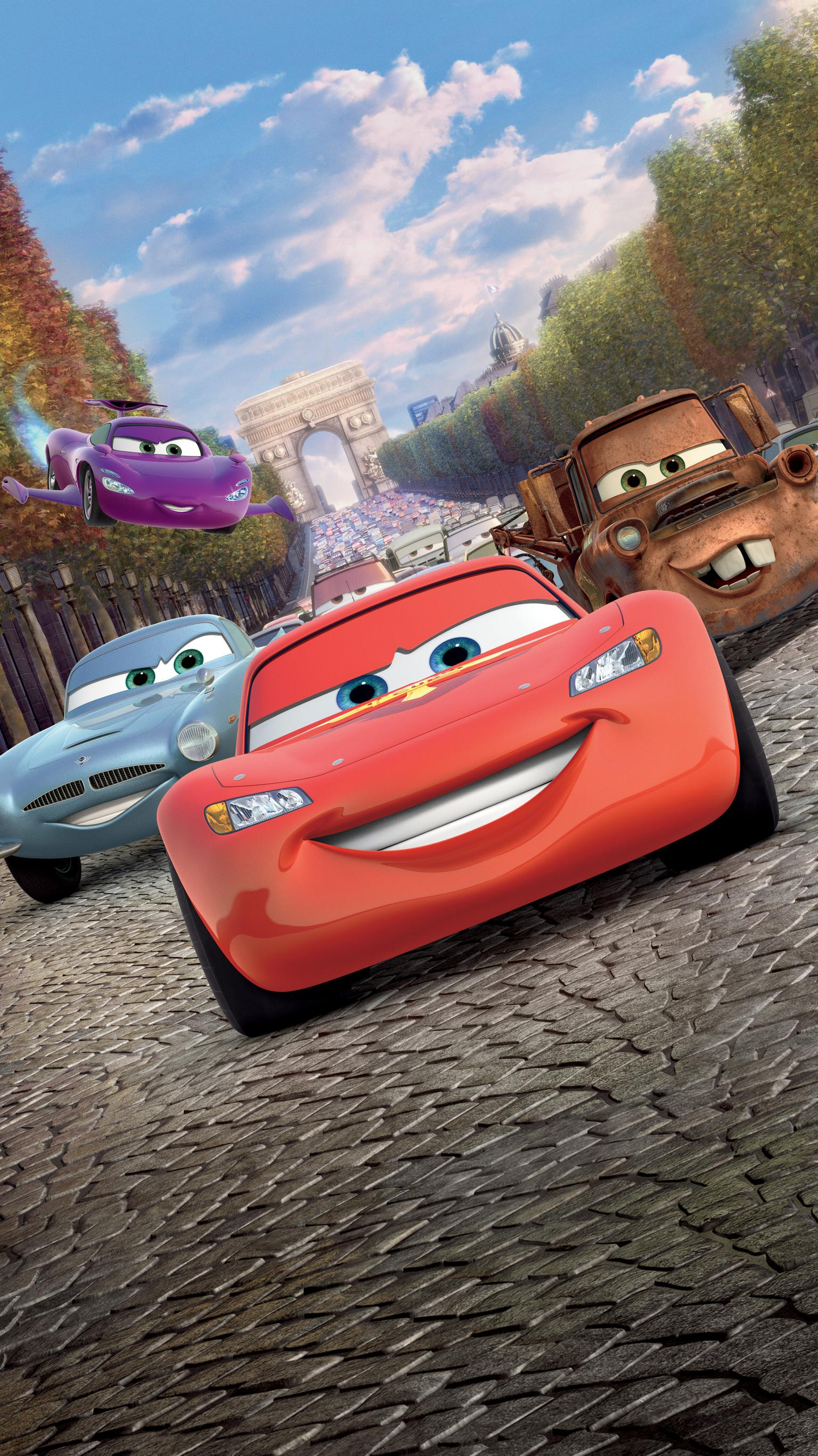 Cars 2 Wallpapper Posted By Zoey Mercado