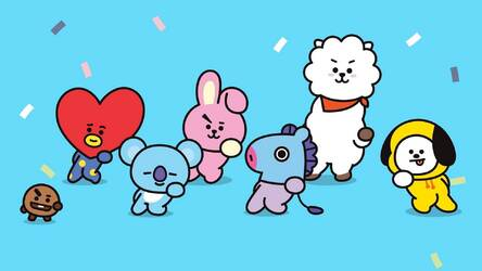 BTS BT21 HD Wallpapers New Tab Themes HD Wallpapers