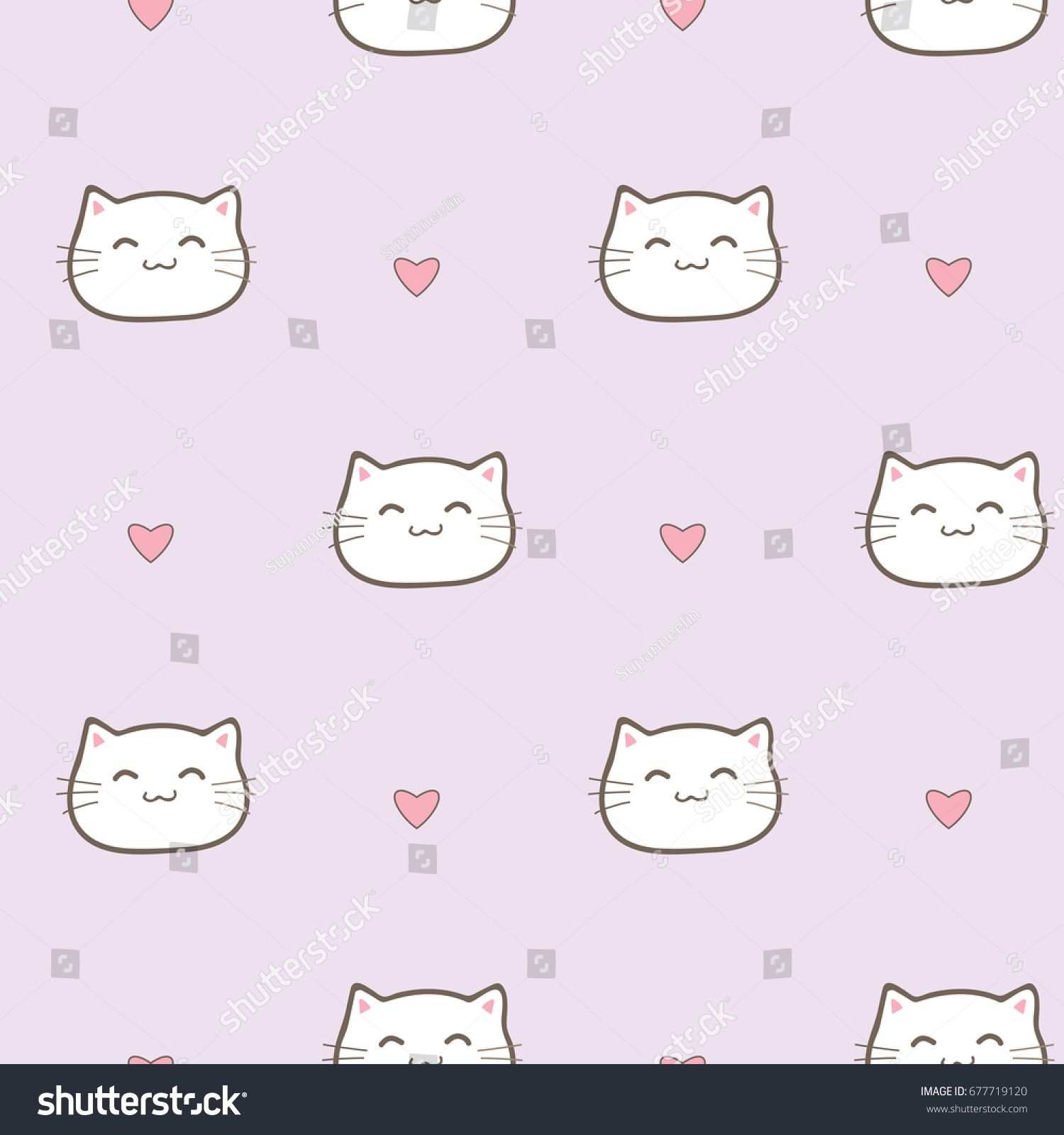 Cartoon Cat Background Posted By Sarah Sellers