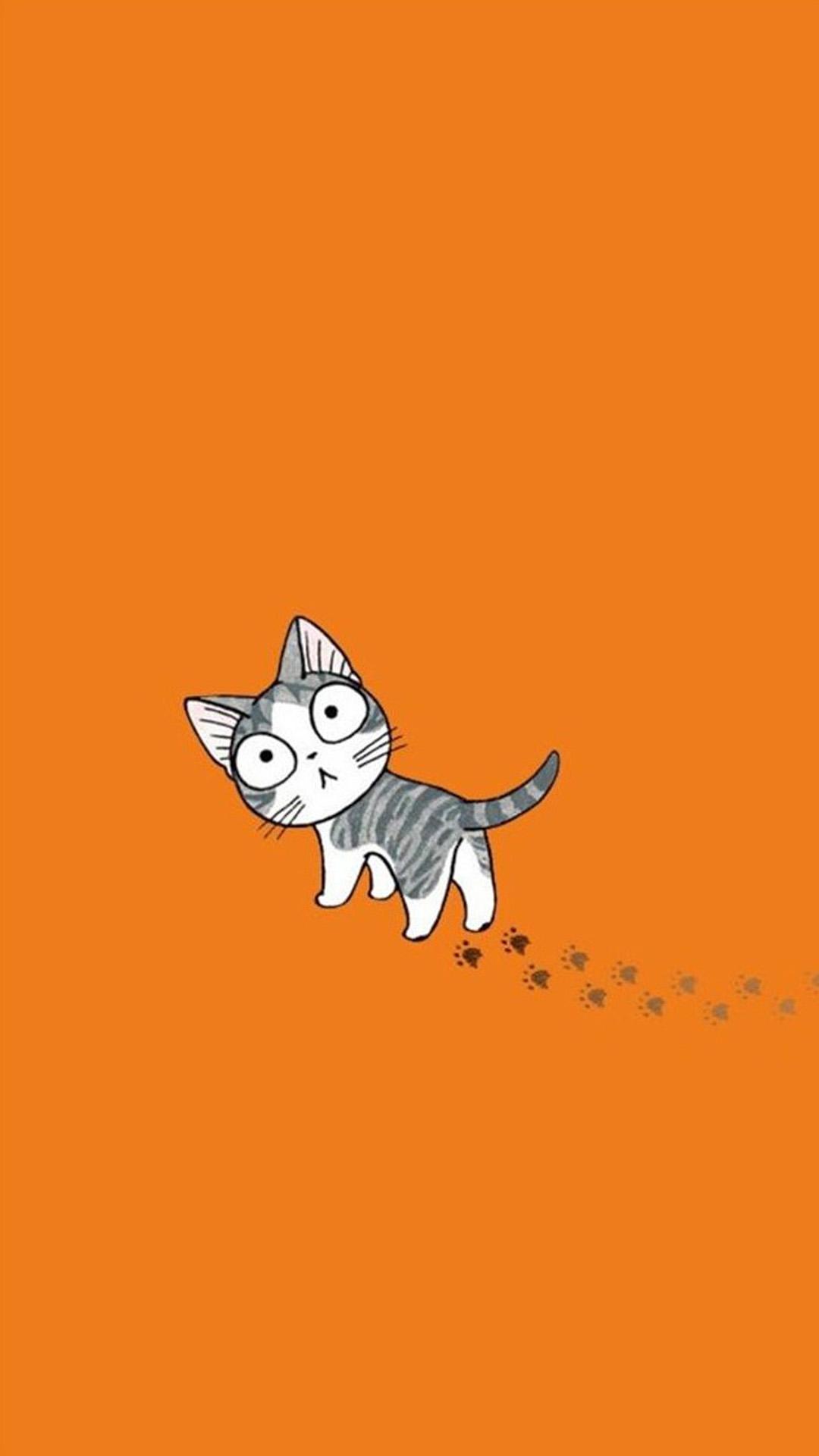 Cartoon Cat Wallpaper Posted By Samantha Peltier