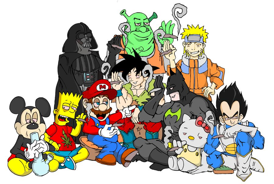 Cartoon Characters Smoking Weed Pictures Posted By Christopher Thompson