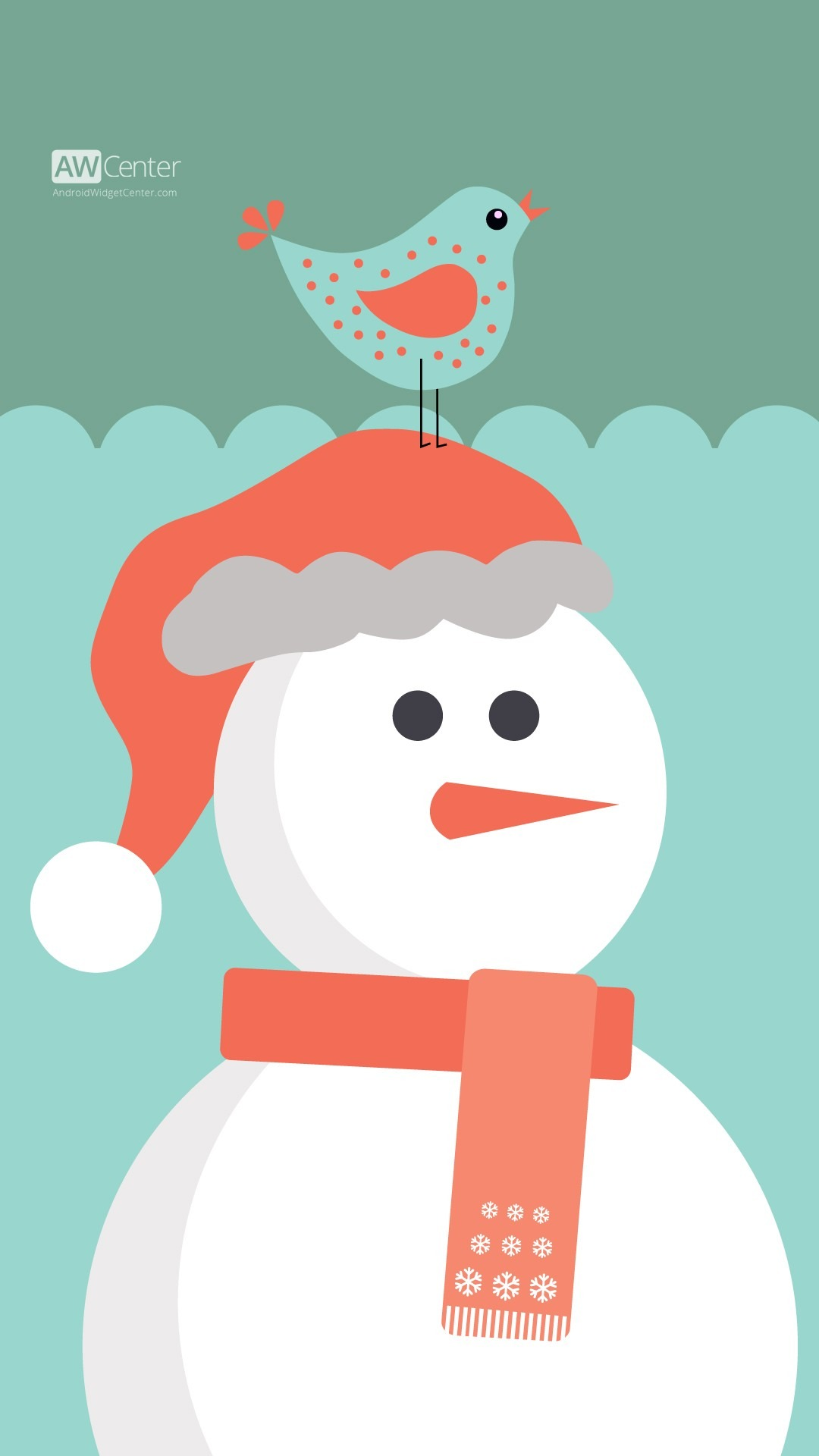 Cartoon Christmas Wallpaper