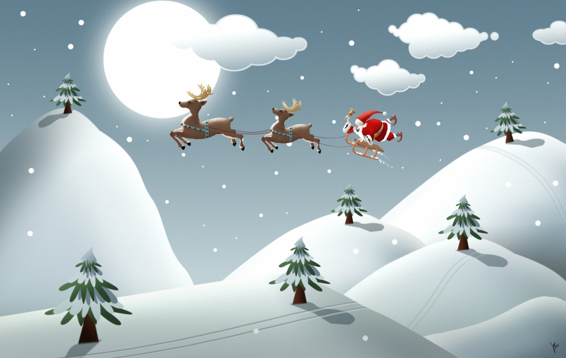 cartoon christmas wallpapers posted by ryan tremblay cartoon christmas wallpapers posted by
