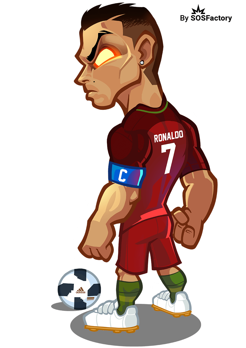 Cartoon Messi And Cristiano Ronaldo Wallpapers Posted By Sarah Thompson
