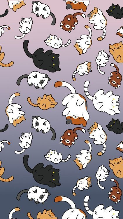 Cat Cartoon Wallpaper Posted By Ethan Simpson