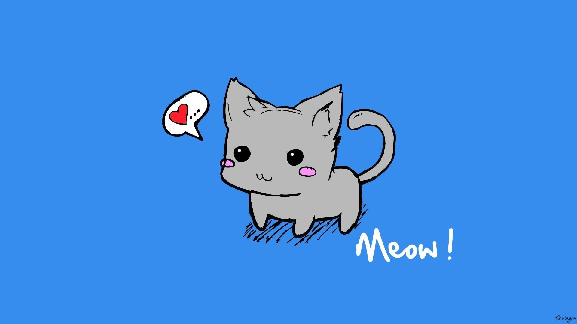 Cat Drawing Wallpaper Posted By Samantha Tremblay
