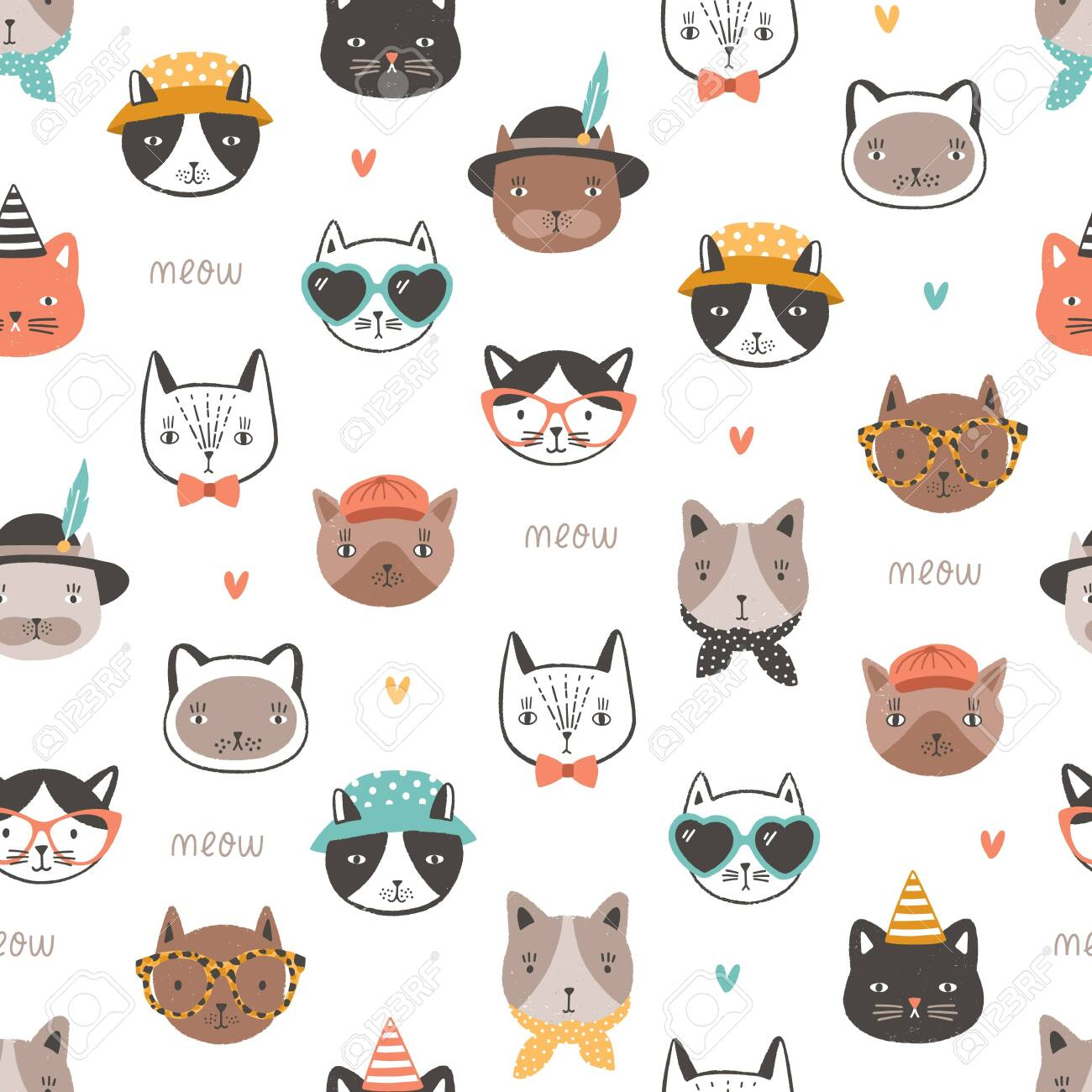 Cat Faces Wallpapers Posted By Ryan Thompson