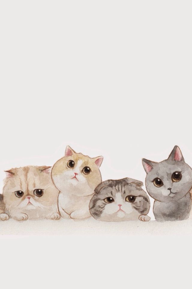 Cats Cartoon Wallpaper Posted By Michelle Johnson