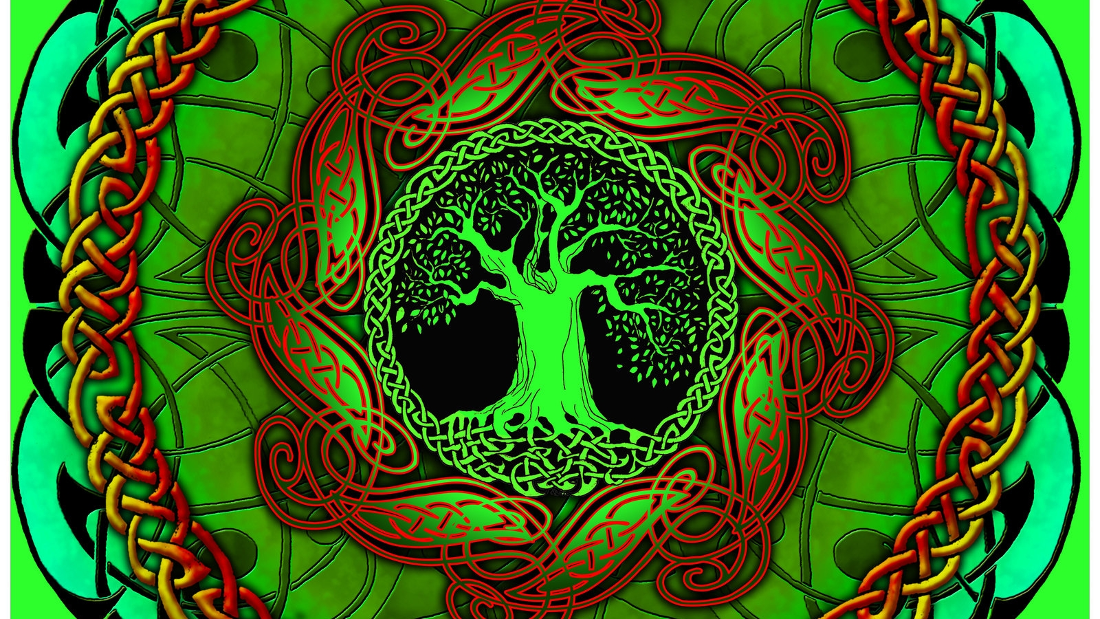 Celtic Tree Of Life Wallpaper Posted By Michelle Tremblay