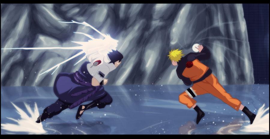 Free download hottest Naruto Vs Sasuke Chidori Rasengan From
