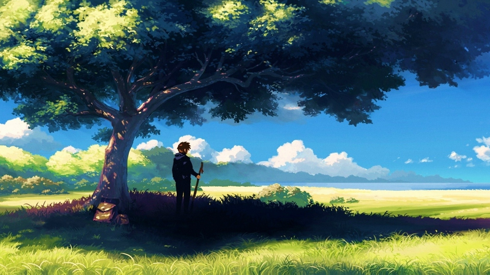 Chill Anime Backgrounds Posted By John Thompson