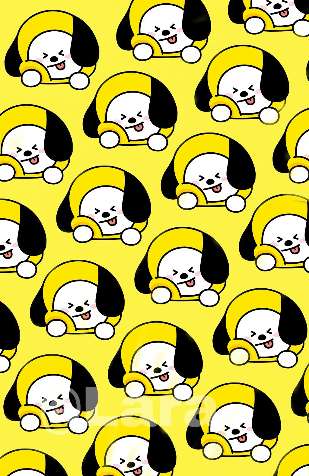 bts bt21 chimmy jimin kawaii wallpaper freetoedit